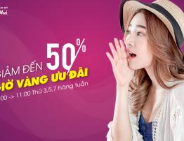 LÀM ĐẸP GIỜ VÀNG - NHẬN NGÀN ƯU ĐÃI 50% - BenhVienNgocPhu.Com