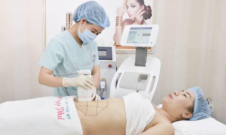 Giảm béo không phẫu thuật Liposonix